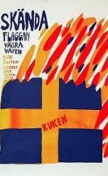 AffichFlaggBränn